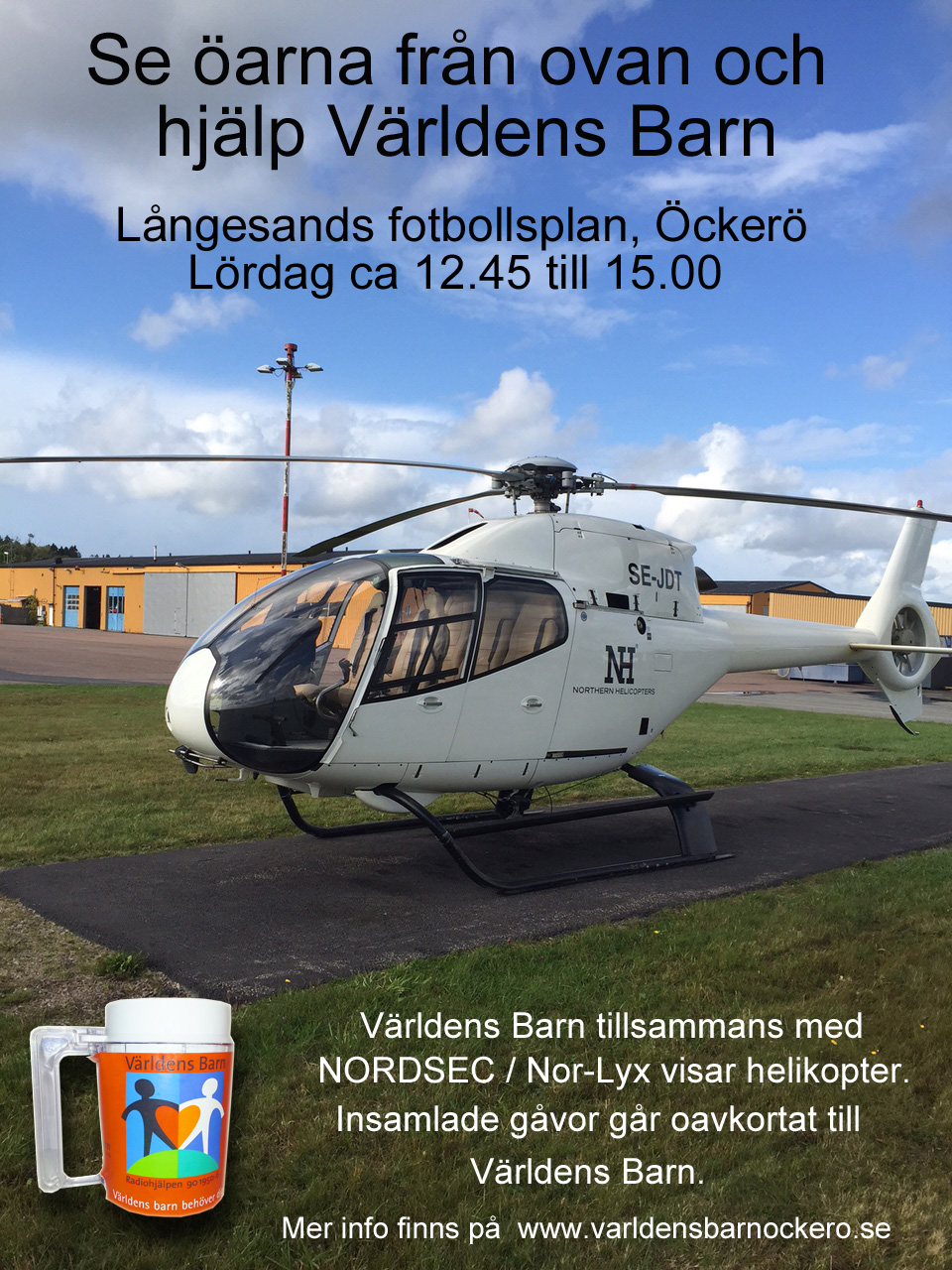 Helikopter m text