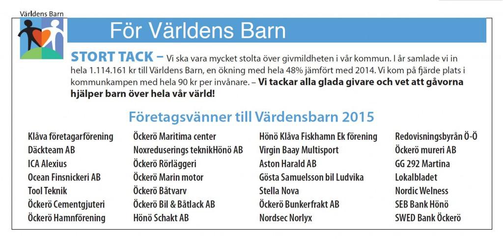 Tack Lokalbladet